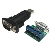 USB 2.0 Male to RS422, RS485 Converter Adapter
