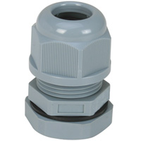 Cable Glands A Type Parallel (G,PF) Short Threads IP68 for Cable Range 12-7 mm Thread Length 10mm