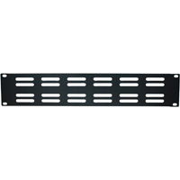 Patch Panel Bracket with Horizontal Air Vents, 19 x 3.50 inch, 2U