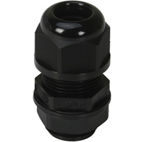 Cable Glands A Type ISO Metric (EN 60423) Long Threads IP68 for Cable Range 12-7 mm Thread Length 1