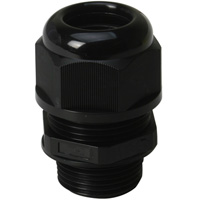 Cable Glands A Type US National Pipe (NPT) Short Threads IP68 for Cable Range 18-14mm Thread Length