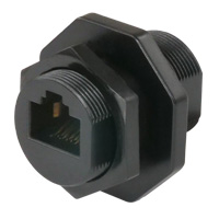 Water Resistant Cat6A Keystone Jack Coupler